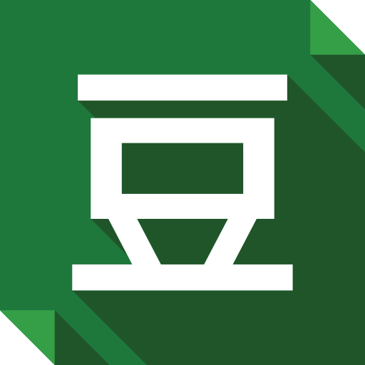 douban, logo, media, social, social media, square icon