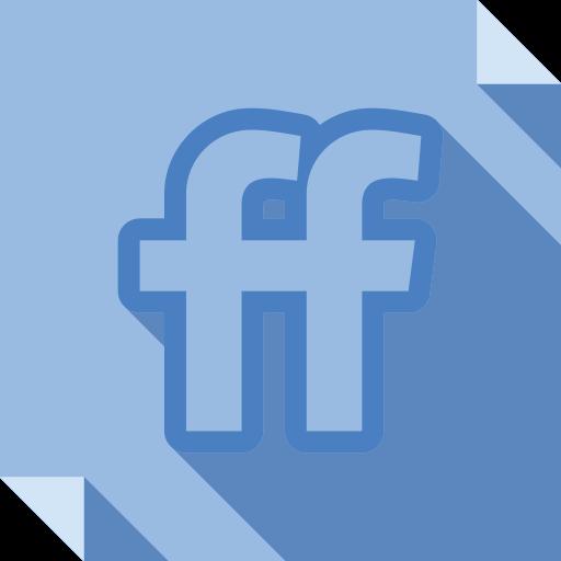 friendfeed, logo, media, social, social media, square icon