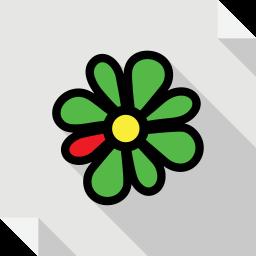 icq, logo, media, social, social media, square icon