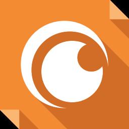 crunchyroll, logo, media, social, social media, square icon