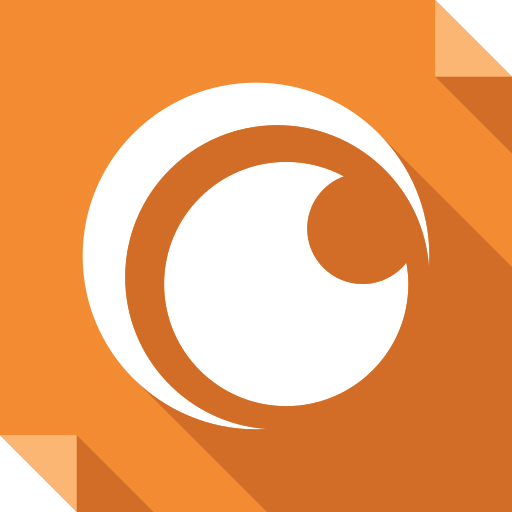 Crunchyroll Logo Media Social Square Icon