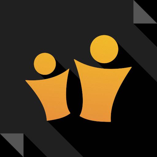 logo, media, partyflock, social, social media, square icon