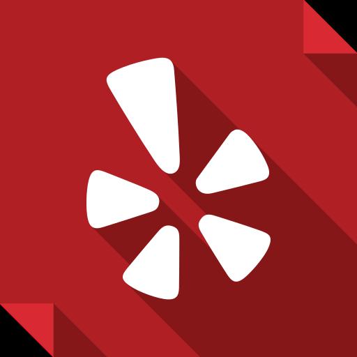 logo, media, social, social media, square, yelp icon