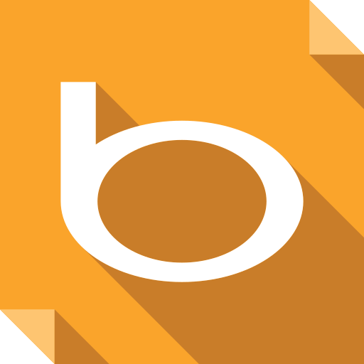 bing, logo, media, social, social media, square icon