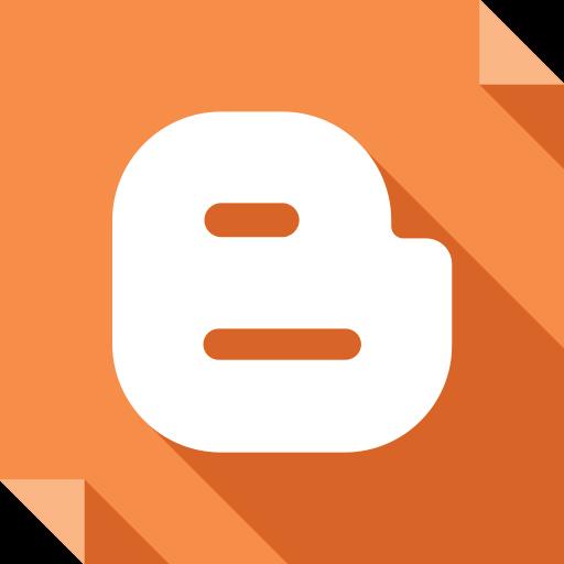 blogger, logo, media, social, social media, square icon
