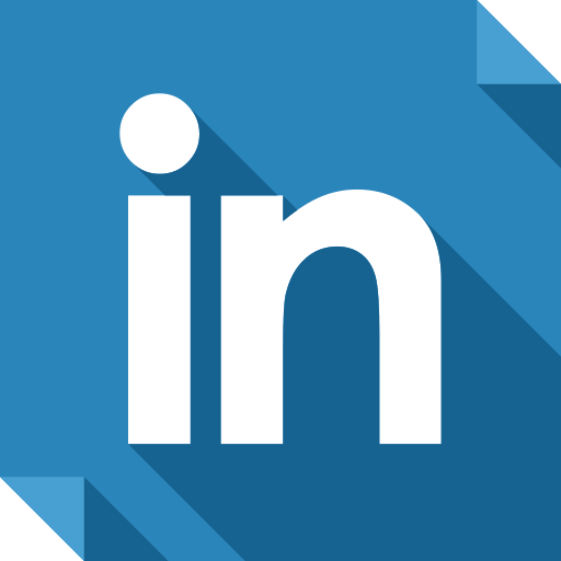 linkedin, logo, media, social, social media, square icon