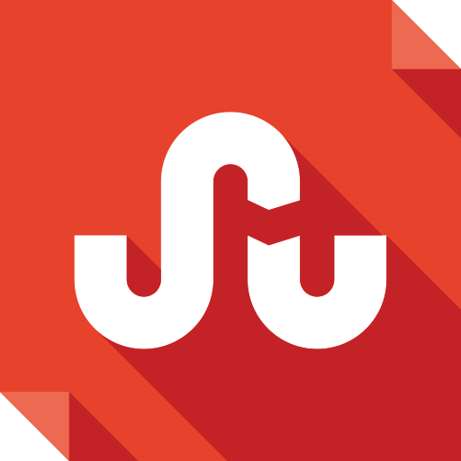 logo, media, social, social media, square, stumbleupon icon