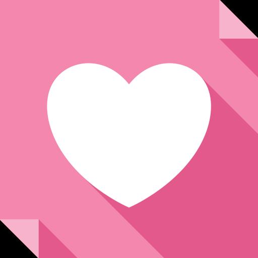 heart, it, logo, media, social, social media, square, we, we heart it icon