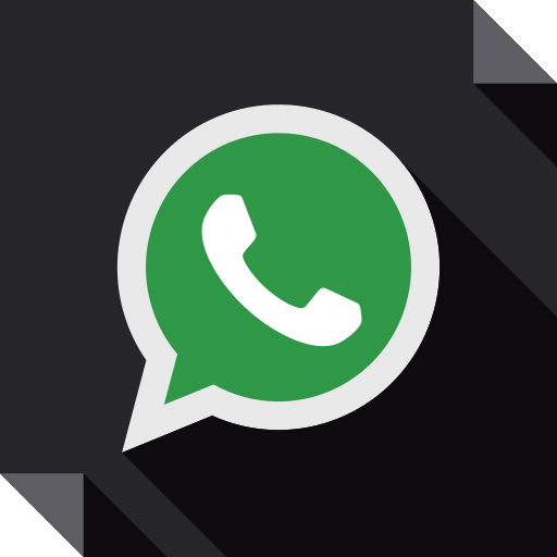 logo, media, social, social media, square, whatsapp icon