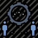 control, discipline, manage, regulation, rules icon