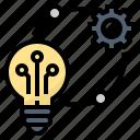creative, idea, innovation, technique, technology icon
