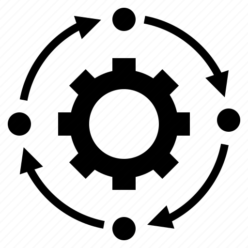 activity, control, procedure, process, system icon