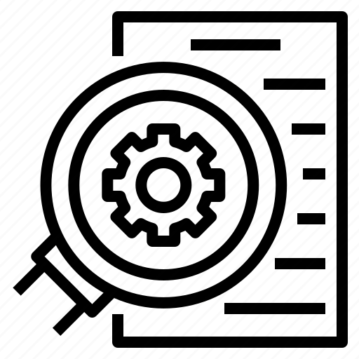 Check, elaborate, examine, investigate, verify icon - Download on Iconfinder