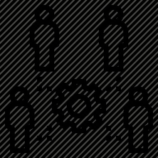 Duty, interdependence, organization, staff, teamwork icon - Download on Iconfinder