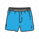 boxer, boxer brief, brief short, clothing, garments, underpants, underwear icon
