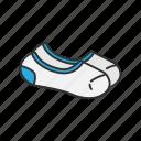 ankle socks, anklets, clothing, foot sock, footwear, garment, socks icon