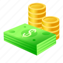 bank, banking, card, cash, coin, coins, credit, currency, dollar, ecommerce, economy, finance, financial, money, payment, price, salary, sale, shop icon