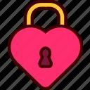 heart, lock, love, private, valentine