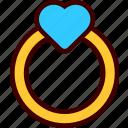 engagement, gift, heart, love, ring, valentine, wedding