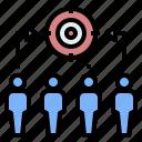 business, collaboration, focus, goal, target, teamwork, unity