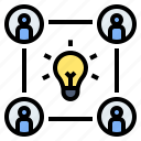 brainstorming, collaboration, creative, group, idea exchange, organization, teamwork
