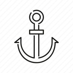 anchor, beach, sea, seaside, ship, travel, vacations icon