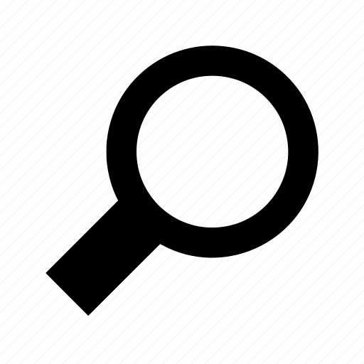 find, loupe, magnifier, search, seek icon