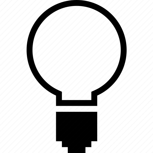 bright, idea, light, lightbulb icon
