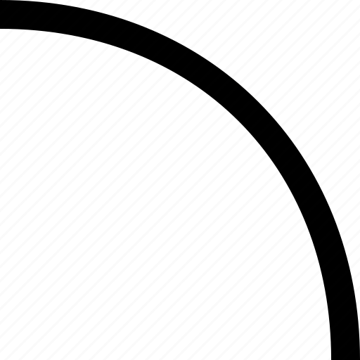curve, line, smooth, turn icon
