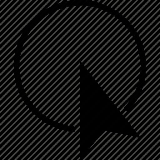 area, compound, cursor, point, pointer, select icon