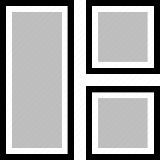 arrange, arranging, box icon