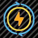 eco, energy, flash, power, renewable, sun