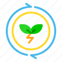 eco, electric, energy, plant, plug, power, sun