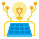 eco, energy, lamp, panel, power, solar, sun