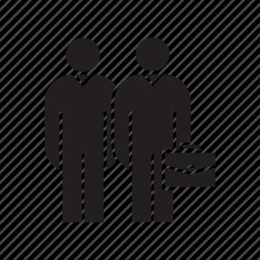 colleague, companion, friend, workmate icon