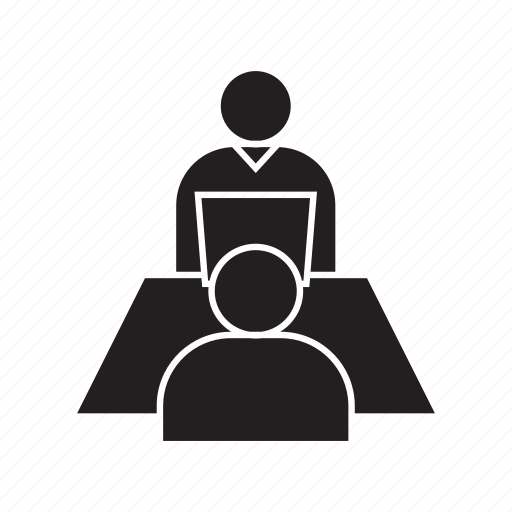business, executive, interview, job interview, management, meeting, office icon