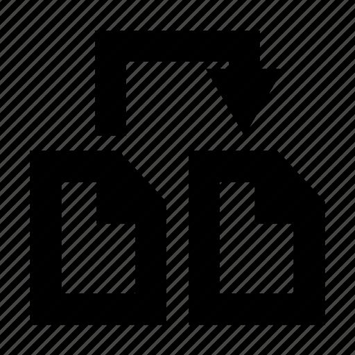copy, document, paper icon