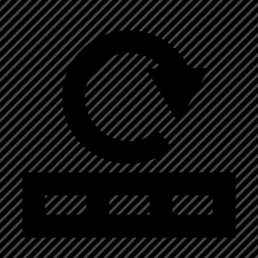 database, loading, reload icon