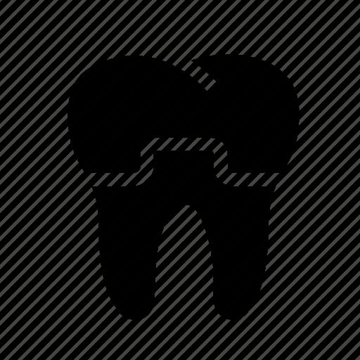 dental, dental crown, dentist, dentistry, oral hygiene, tooth, treatment icon