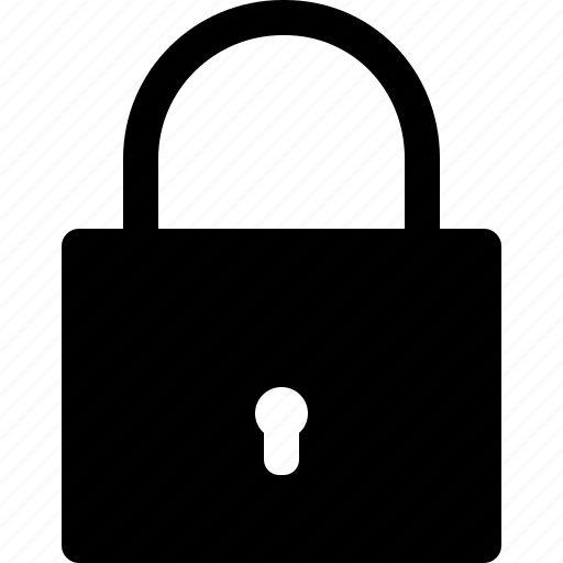 locked, padlock, password, privacy, protection, safety, security icon