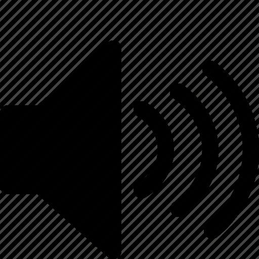 audio, multimedia, music, song, sound, speaker, volume icon