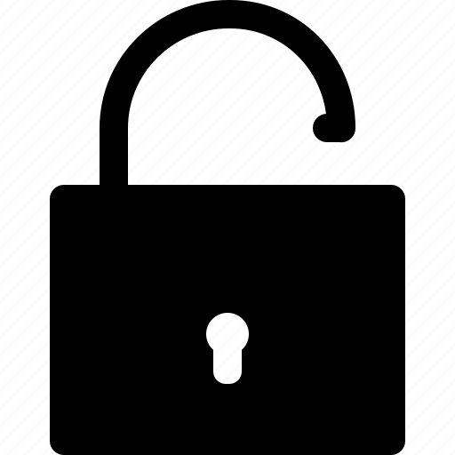 locked, open, password, protection, safety, security, unlocked icon