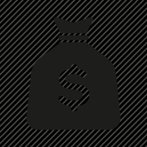 Banking, cash, dollars, finance, money, money bag icon - Download on Iconfinder