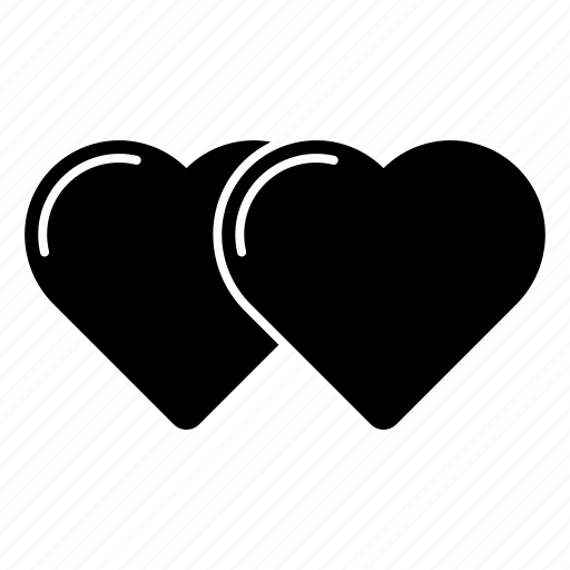 couple, heart, love, pair, romance, valentine's day, valentines icon
