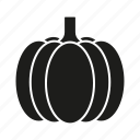 food, halloween, organic, pumpkin, vegetables icon