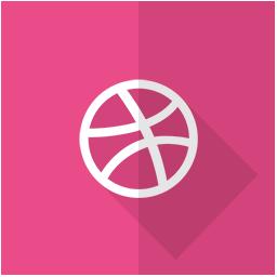 dribbble, internet, logo, network, social, web icon