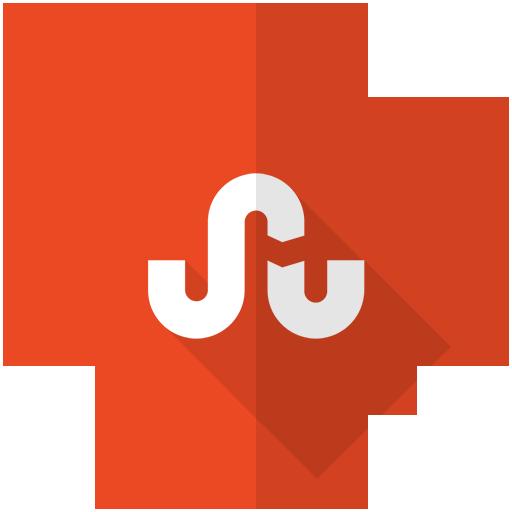 internet, logo, stumple, stumpleupon, upon, wesite icon