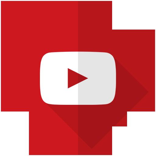 audio, film, media, movie, multimedia, video, youtube icon
