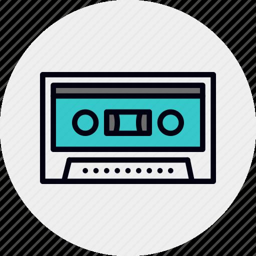 analog, cassette, demo, record, retro, tape icon