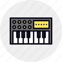 keyboard, midi, synth, synthesiser, synthesizer